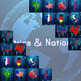 Countries Interactive Whiteboard PowerPoints - Learn and Practice Game