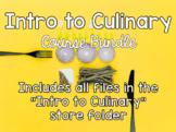 Intro to Culinary Course Bundle-  Including 53 listings PLUS Bonus Files!