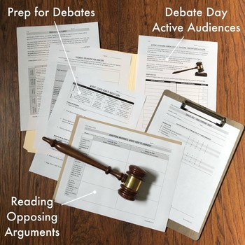 Debate Unit: 2+ Weeks of Speaking, Nonfiction, & Writing for Secondary ELA