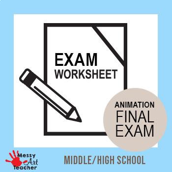 Intro to Digital Media/Animation Final Exam for High School