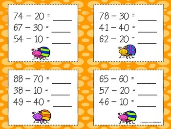 Subtracting Multiples of Ten Review Game