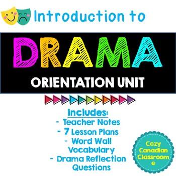 Intro to Drama: Orientation Unit