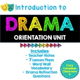 Intro to Drama: Orientation Unit