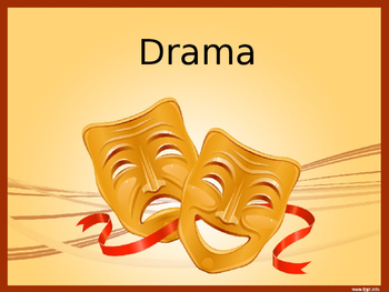 Intro to Drama: Terms