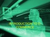 Intro to E-Commerce