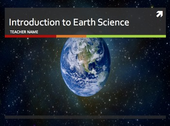 Intro to Earth Science PowerPoint