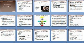 Intro to Earth Science Scientific Method Smartboard Notebo