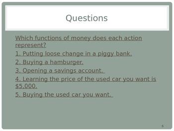 Intro to Economics: Money and Banks