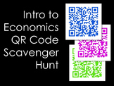 Intro to Economics QR Code Scavenger Hunt and Classroom Activity