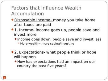 Intro to Economics: Wealth