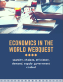 Intro to Economics Webquest