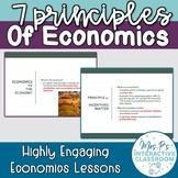 Intro to Economics: the 7 Principles of Economics Lesson!