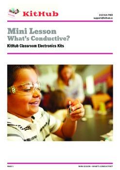 Intro to Electronics: Identify Conductive Materials - Mini Lesson