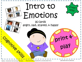 Intro to Emotions Materials