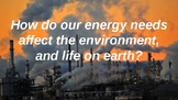 Intro to Energy and Climate Change PowerPoint Slides