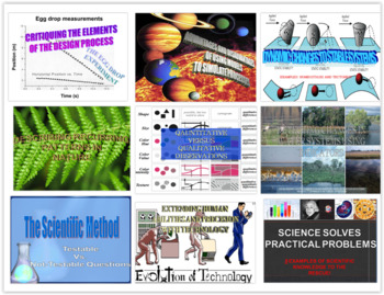 Intro. to Engineering / Nature of Sci PPT BUNDLE Part 1  (