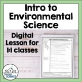 Intro to Environmental Science [Distance Learning]