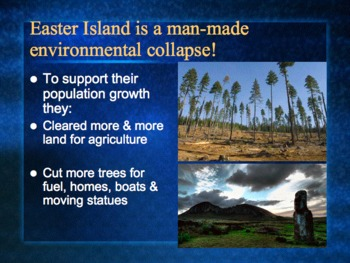 PowerPoint:  Intro to Environmental Science--Why Should We Care?