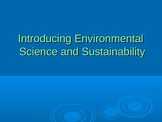Intro to Environmental Science and Sustainability