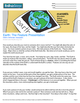 Intro to Erosion and Weathering, The Feature Presentation - Engaging Science