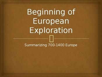 Intro to European Exploration