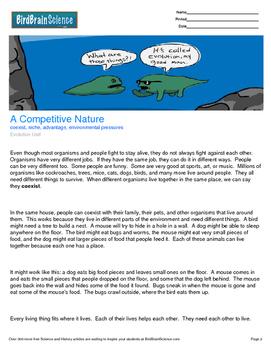 Intro to Evolution - Environmental pressures - Free Scienc