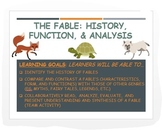 Intro. to Fables: History, Motifs, Examples + Collaborative Analysis!