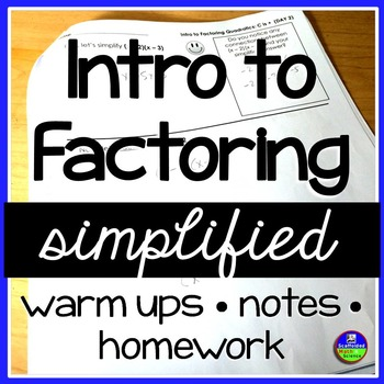Factoring Notes Simplified