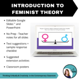 Intro to Feminist Theory - PPT, Teacher Notes, Suggested T
