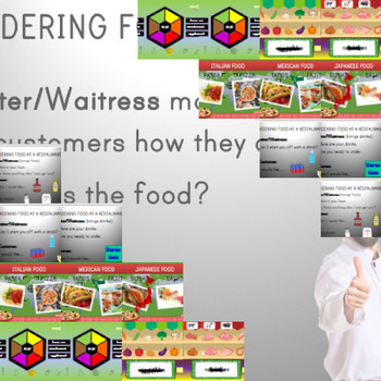 Food ❘ Kindergarten Lesson ❘ Powerpoint ❘ Games ❘ Ordering ❘ Role Play