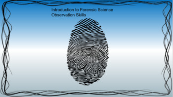 Intro to Forensics Science Starters
