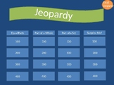 Intro to Fractions Jeopardy Game