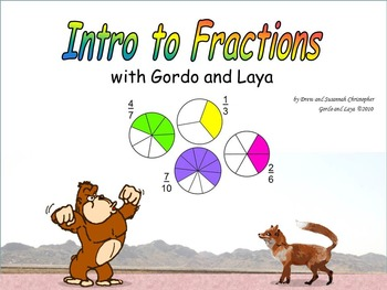 Intro to Fractions with Gordo and Laya