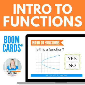 Intro to Functions Boom Cards