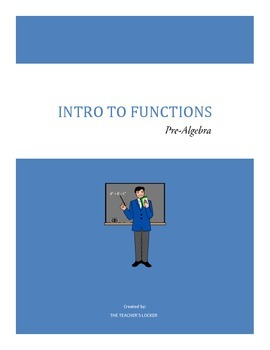 Intro to Functions: Pre-Algebra Lesson