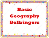 Intro to Geography Bellringers *EDITABLE*