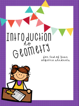 Intro to Geometry Notes Booklet