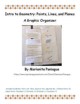 Intro to Geometry: Points, Lines, and Planes