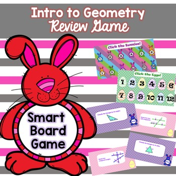 Intro to Geometry Review Game (Spring/Easter)