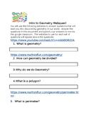Intro to Geometry Webquest