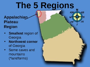 Intro. to Georgia's Geography: The 5 Regions of Georgia