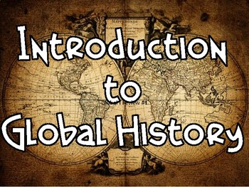 Intro to Global History Review