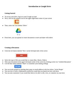 Intro to Google Drive for Teachers