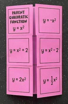 Intro to Graphing Quadratics (ax^2 + c)