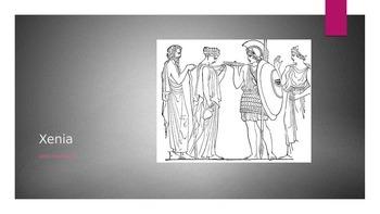 "Intro to Greek Hospitality in ""The Odyssey"""