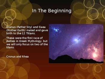 Intro to Greek Mythology