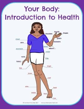 Intro to Health: Body Parts - No-Prep Thematic Unit Plan
