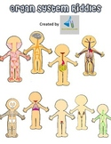 Human Body Systems Riddles