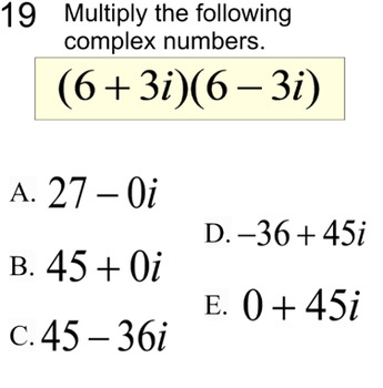 Intro to Imaginary Numbers - 9 Assignments & an Introduction for SMART Notebook