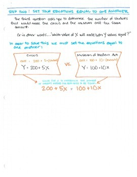 Intro to Inequalities (1 problem, broken down into steps)